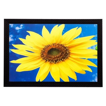 Sunflower Matt Textured UV Art Painting