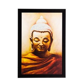 Enlightening Lord Buddha Matt Textured UV Art Painting