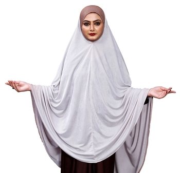 Justkartit Women Ready To Wear Long Plain Prayer Hijab Abaya