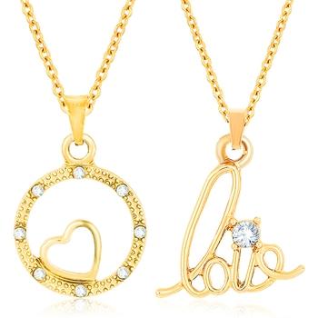 Yellow crystal pendants