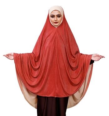 Justkartit Instant Stitched Long Prayer Scarf Hijab Abaya For Women