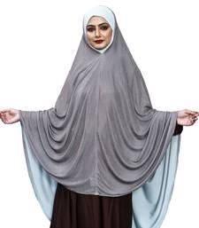 Justkartit 2 Shade Islamic Long Prayer Chaderi Hijab For Women