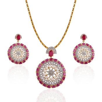 Heena Classic Collection Pendent Set >> HJPN141W <<
