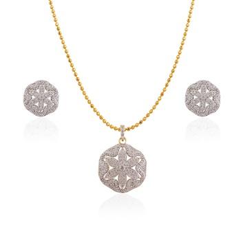 Heena Elegant Floral Pendent set >> HJPN127 <<