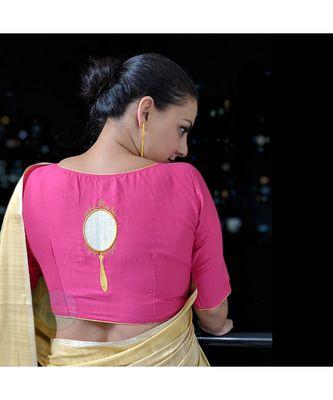 AINA cotton silk blouse