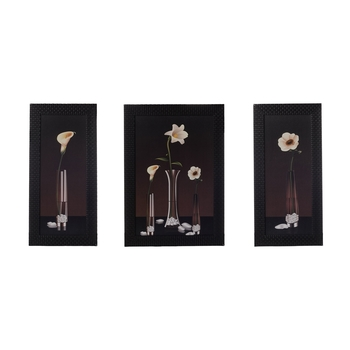 Set of 3 Satin Matt Textured Art Painting