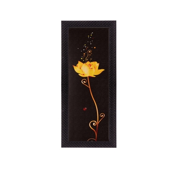 Floral Matt Texture UV Art Painting