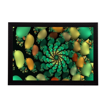 Colorful Abstract Satin Matt Texture UV Art Painting