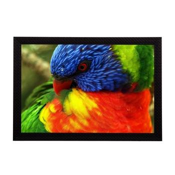 Bird Satin Matt Texture UV Art Painting
