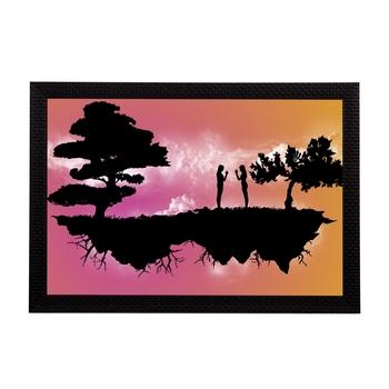 Trees Satin Matt Texture UV Art Painting