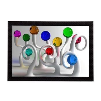 Abstract Colorful Satin Matt Texture UV Art Painting