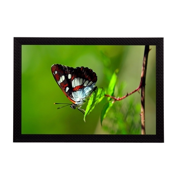 Butterfly Satin Matt Texture UV Art Painting