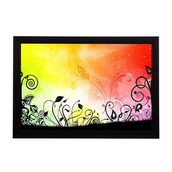 Abstract Lines Satin Matt Texture UV Art Painting