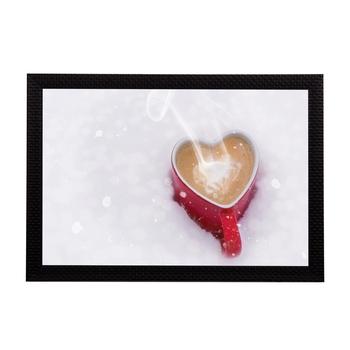 Love For Coffee Satin Matt Texture UV Art Painting