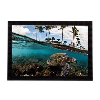 Sea Side Satin Matt Texture UV Art Painting