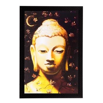 Spiritual Lord Buddha Matt Textured UV Art Painting