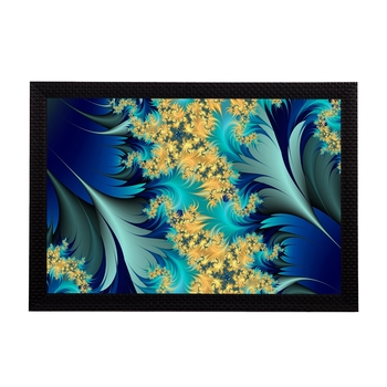 Abstract Floral Satin Matt Texture UV Art Painting