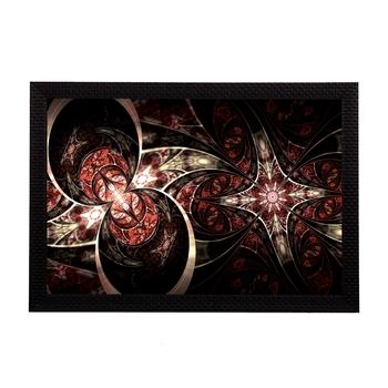 Black Abstract Satin Matt Texture UV Art Painting