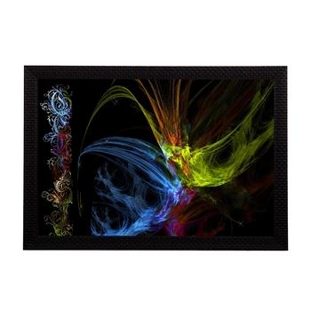 Neon Color Abstract Satin Matt Texture UV Art Painting