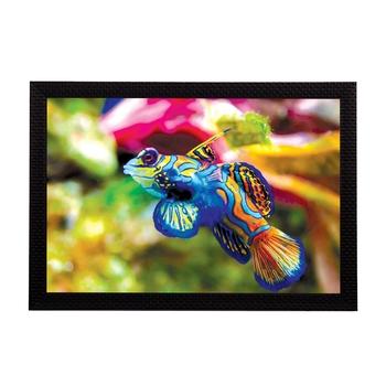 Fish Satin Matt Texture UV Art Painting