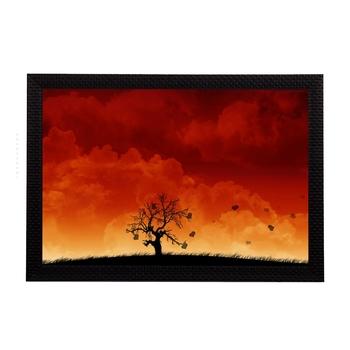 Evening View Satin Matt Texture UV Art Painting