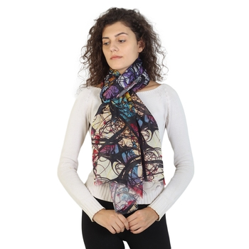 Multicolor modal Printed Scarves