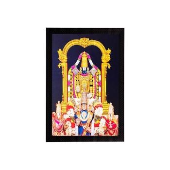 Lord Balaji Matt Textured UV Art Painting
