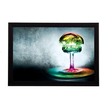 Neon Colorful Abstract Satin Matt Texture UV Art Painting