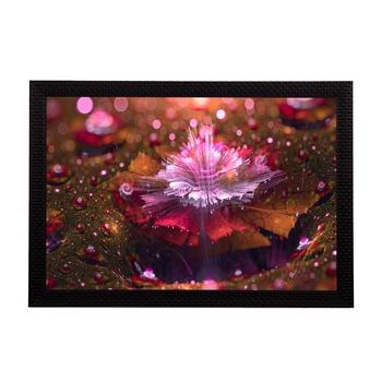 Glowing Abstract Satin Matt Texture UV Art Painting