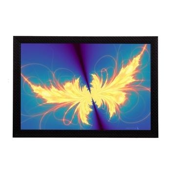 Abstract Glowing Satin Matt Texture UV Art Painting