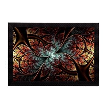 Abstract Brown Satin Matt Texture UV Art Painting