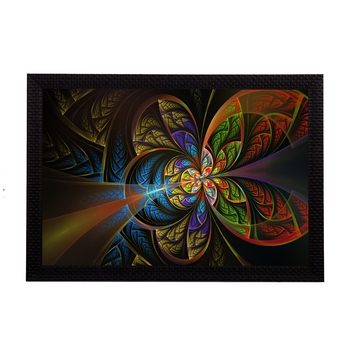 Abstract Colorful Satin Matt Texture UV Art Painting