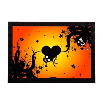 Black Bee Satin Matt Texture UV Art Painting