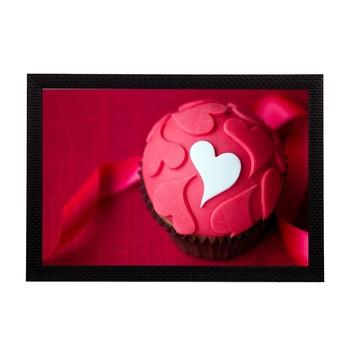 Pink Hearts Satin Matt Texture UV Art Painting