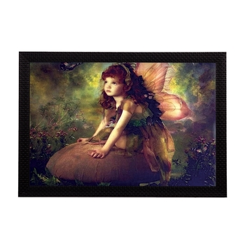 Little Angel Satin Matt Texture UV Art Painting
