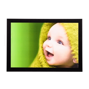 Laughing Baby Satin Matt Texture UV Art Painting