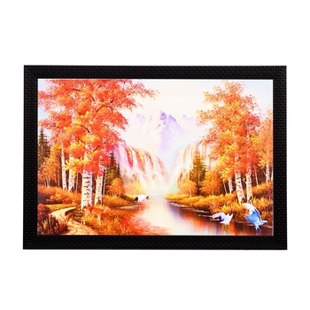 Spring View Satin Matt Texture UV Art Painting