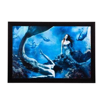 Mermaid Satin Matt Texture UV Art Painting