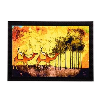 Camels Satin Matt Texture UV Art Painting