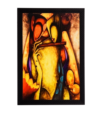 Figurative Satin Matt Texture UV Art Painting