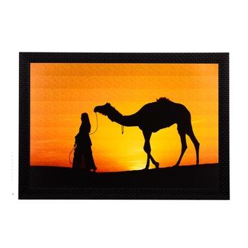 Desert Camel Satin Matt Texture UV Art Painting