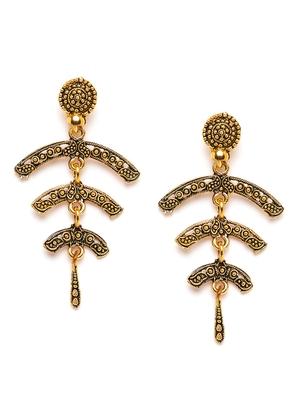 ZeroKaataGold earrings
