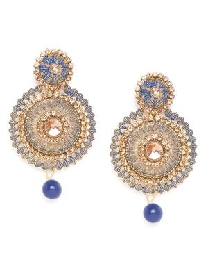 ZeroKaataBlue earrings