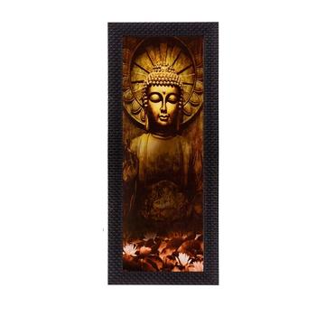 Lord Buddha Matt Texture UV Art Painting