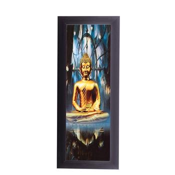 Lord Buddha Satin Matt Texture UV Art Painting