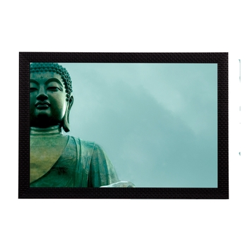 Lord Buddha Satin Matt Texture UV Art Painting