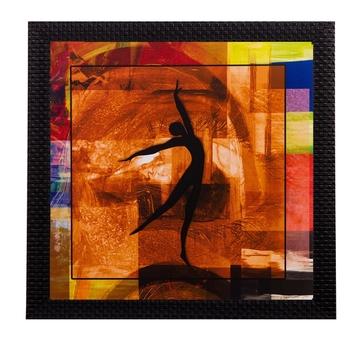 Dancing Lady Satin Matt Texture UV Art Painting
