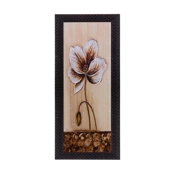 Floral Design Satin Matt Texture UV Art Painting