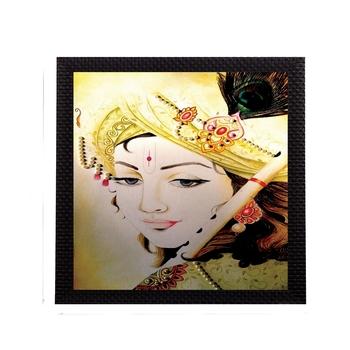 Legendry Lord Krishna Satin Matt Texture UV Art Painting