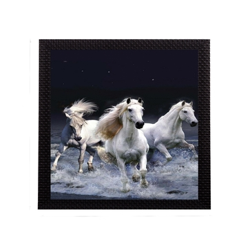 Running Horsesl Satin Matt Texture UV Art Painting